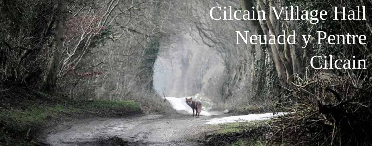 Cilcain Village Hall – Neuadd y Pentre Cilcain